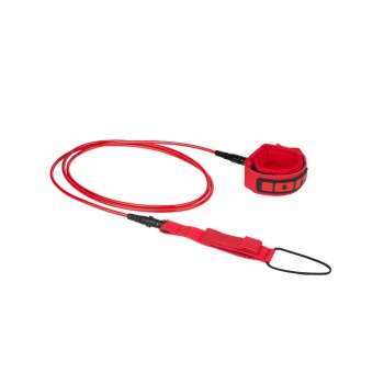 ION Surfboard Leash 6 pieds Red