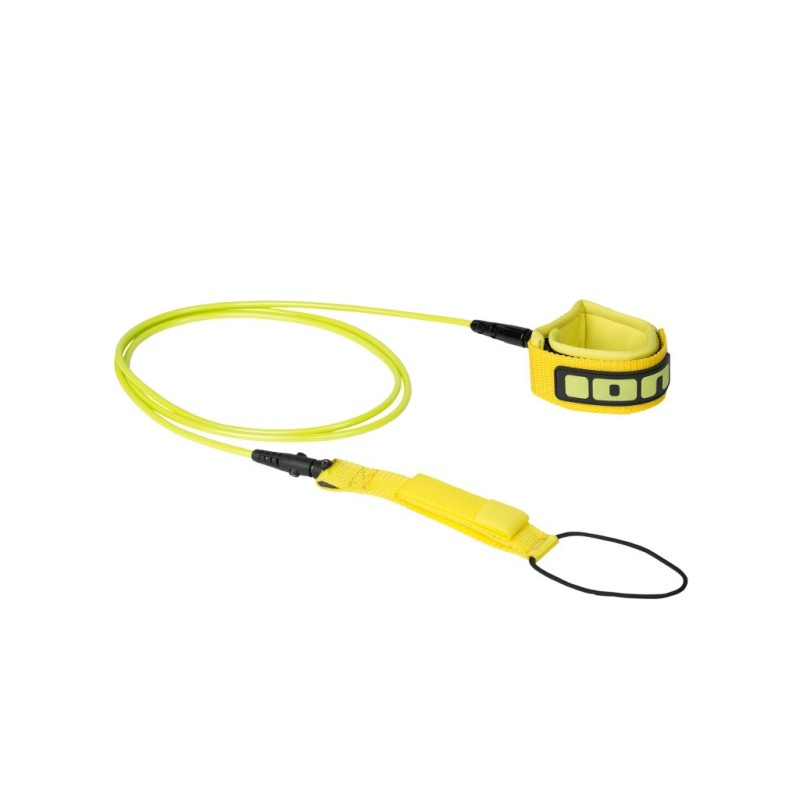 ION Surfboard Leash 6 pieds Yellow