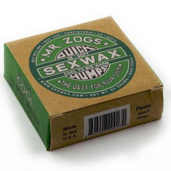 "Wax Surf ""SexWax green"" 14°/23°"