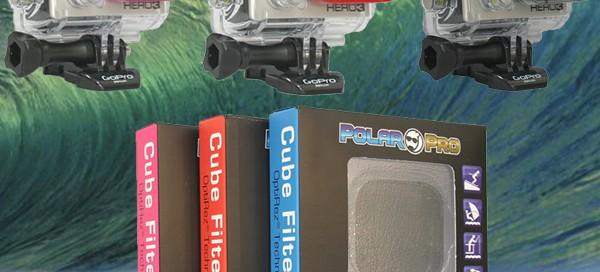 Polar Pro Filtres pour GoPro HD3