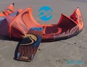 Liquid Force Kiteboarding Envy 7m et Element 136cm