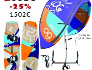 Pack Kitesurf 2014 Takoon - Source Phi - Log Phi