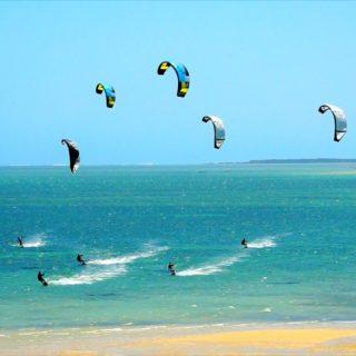 Le kitesurf aux JO de Paris 2024